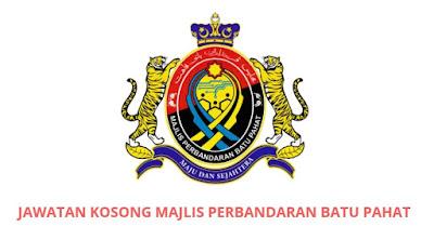 Jawatan Kosong Majlis Perbandaran Batu Pahat 2019 (MPBP)