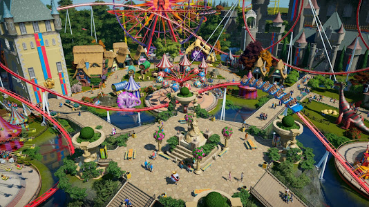 Planet Coaster Review gameplay