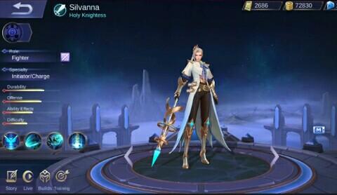 Build Item Tersakit Hero Silvanna Terbaru Mobile Legend
