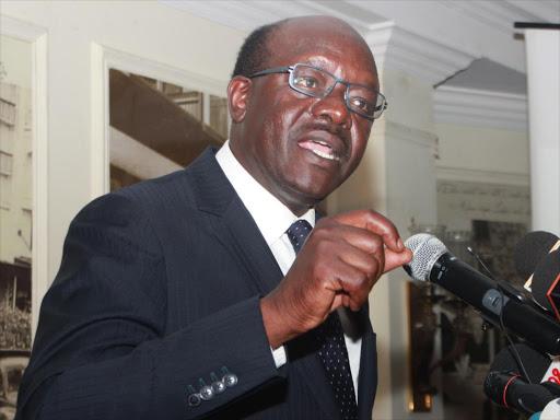 UNCTAD secretary-general Dr Mukhisa Kituyi