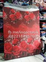 Kasur inoac motif bunga mawar merah inoactasik