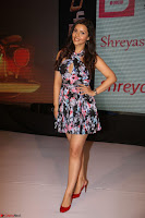 Kyra Dutta in a Deep neck Small Dress at Shamanthakamani pre release function ~  Exclusive 099.JPG