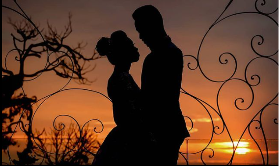 Foto de casamento no por do Sol - Villa Sansu - Fotografo Cassio Ziello