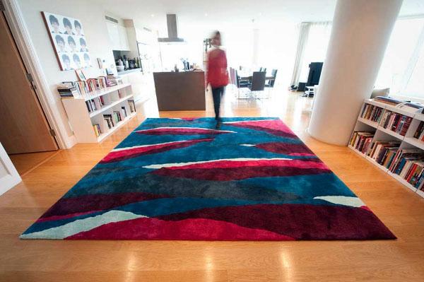 Hogares frescos alfombras contempor neas frescas y coloridas de sonya winner - Alfombras contemporaneas ...