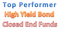 Top Performer High Yield Bond Closed End Funds