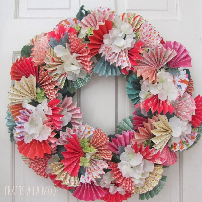 26 beautiful and inspiring spring wreaths   the weekly