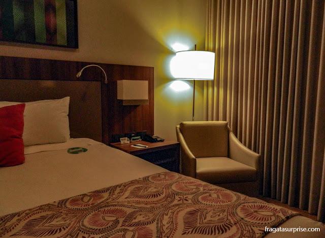 Apartamento do Hotel Deville Prime, em Campo Grande (MS)