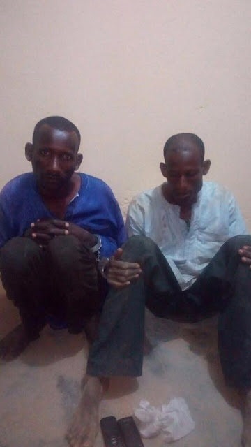 Soldiers Arrest Deadly Kidnappers Who Demanded N1m Ransom from Their Victim in Bauchi (Photos)
