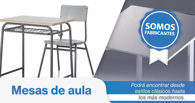 mesas de aula mobiliario escolar