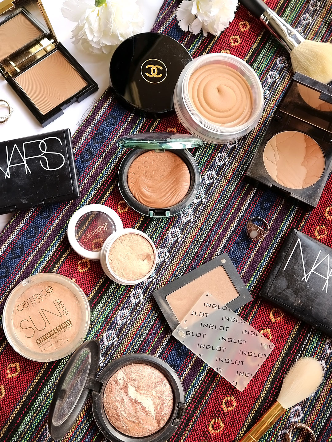 Top 10 favourite bronzers and contouring powders