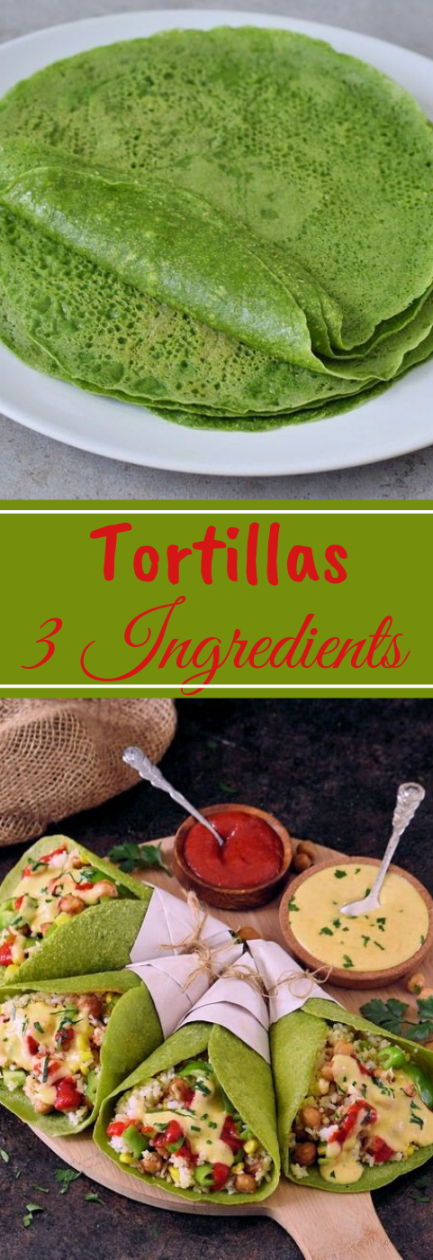 SPINACH TORTILLAS  #healthyrecipes #tortillas #spinach #diet #paleo