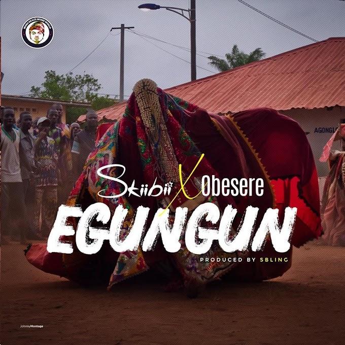 Skiibii  _  Egungun ft obesere