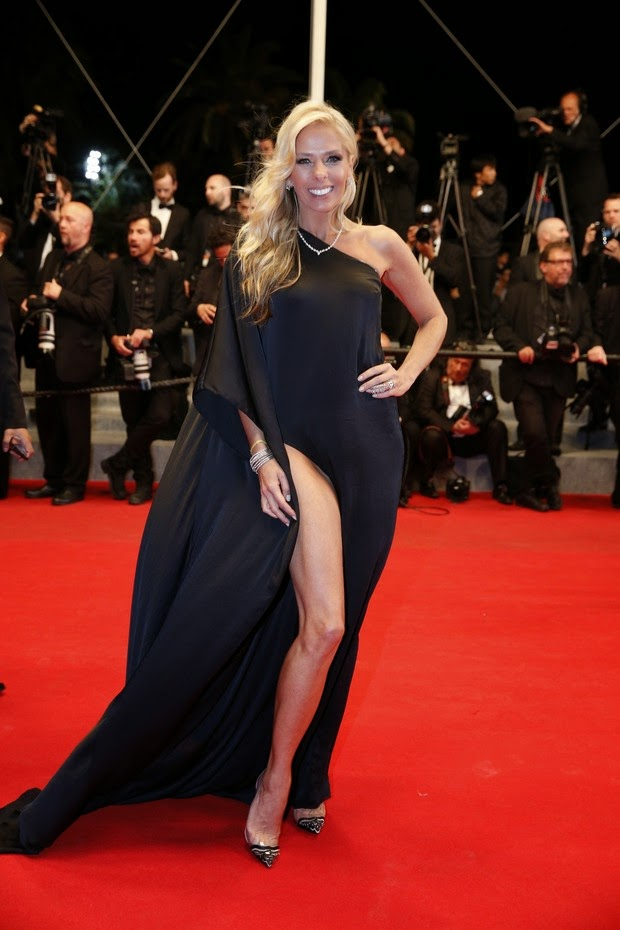 Adriane Galisteu - Festival de Cannes 2014