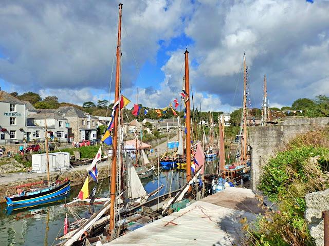Charlestown, Cornwall, tall sailing ships