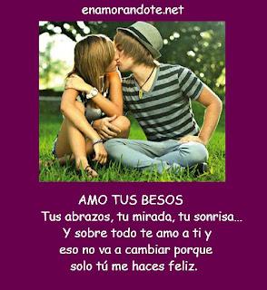 Frases De Amor: Amo Tus Besos