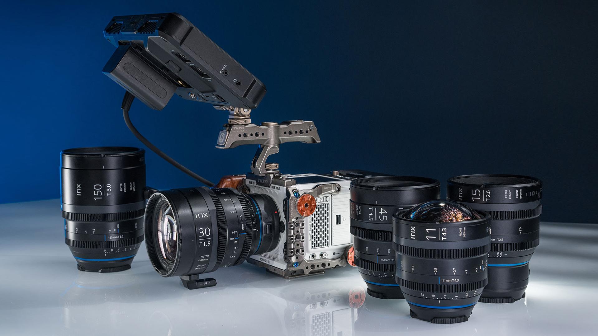 Объективы irix с камерой