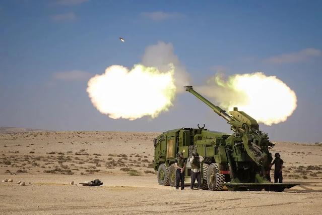 Lựu pháo di động do Israel sản xuất