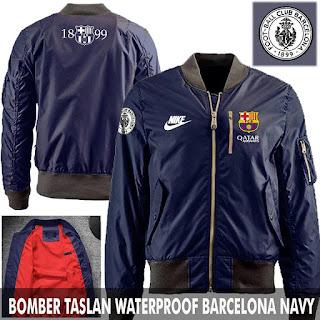 Jual Jaket Bomber Jokowi Barcelona Barca