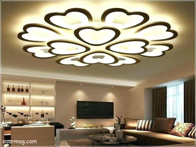 اسقف جبس بورد للصالات مستطيلة 10 | Gypsum Ceiling For Rectangular Halls 10