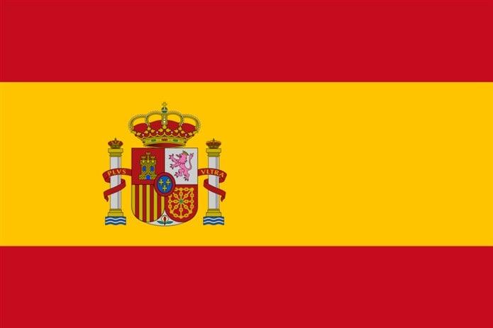 Bayrağında sarı renk olan ülkeler İspanya bayrağı