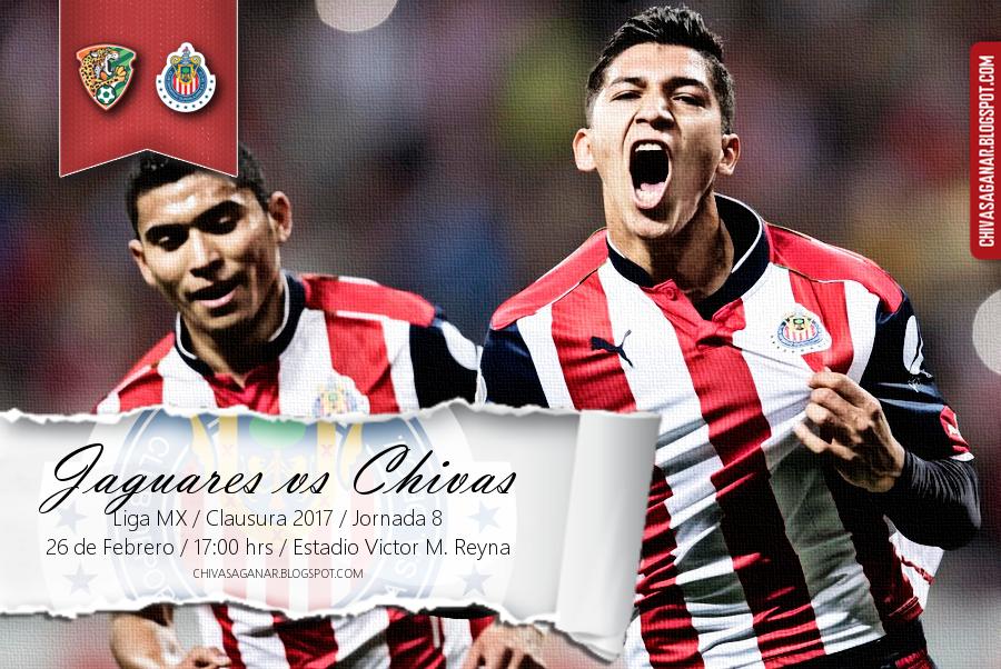 Liga MX : Chiapas FC vs CD Guadalajara - Clausura 2017 - Jornada 8.