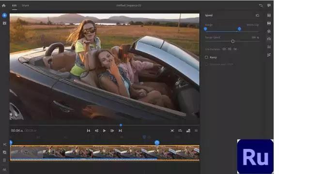 Adobe Premiere Rush - Free video editing app