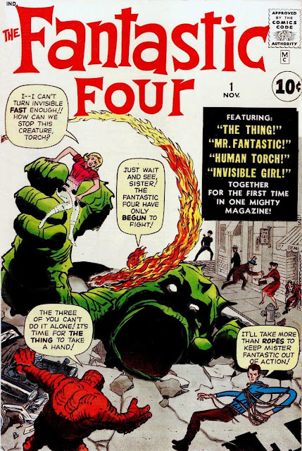 5 things YOU MUST know Stan Lee, Fantastic Four #1 (1961)