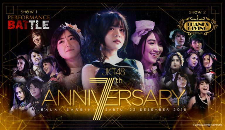 DVD JKT48 7th Anniversary Live in Concert