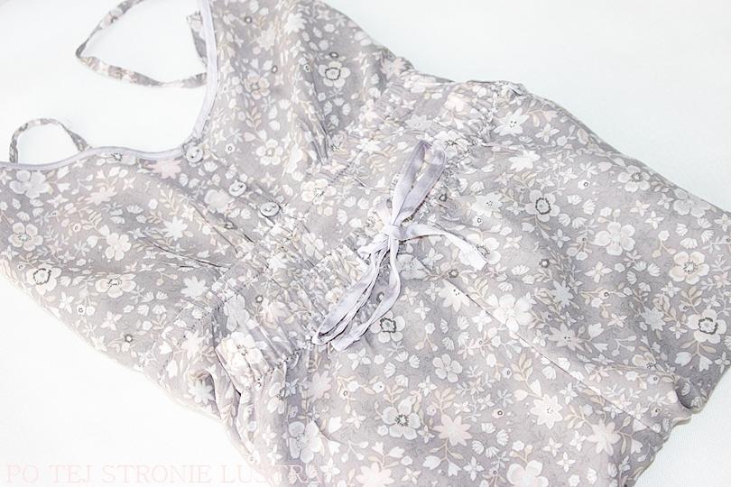 przewiewna piżama na lato