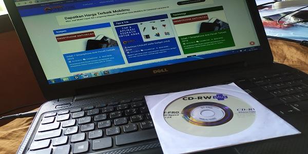 Cara Mudah Burning File ke CD RW Plus