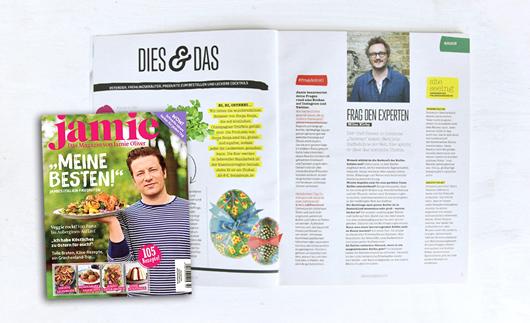 jamie Magazin: Herzfutter