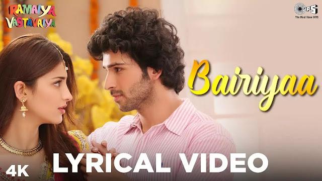 Bariyan Hindi Song Lyrics - Ramaiya Vastavaiya - Atif Aslam