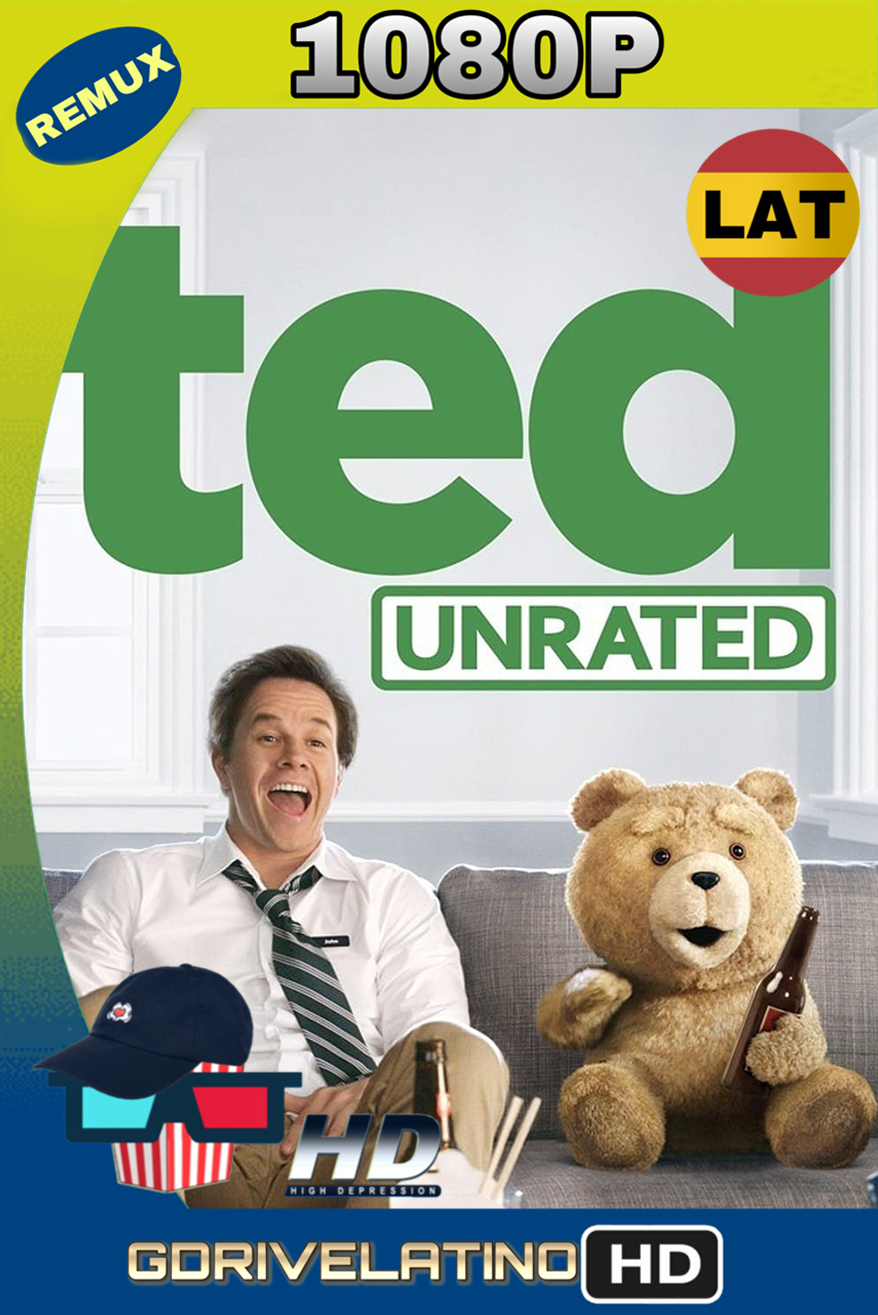 Ted (2012) (UNRATED) REMUX 1080p (Latino-Inglés) MKV