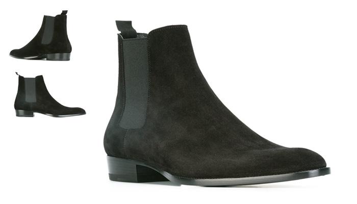 Chelsea boots verde musgo