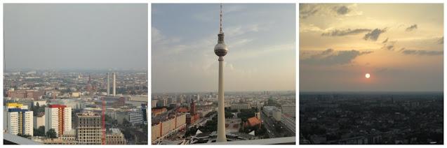 Berlim vista do alto - várias opções de vista panorâmica! Panorama Terrace at Park Inn Hotel