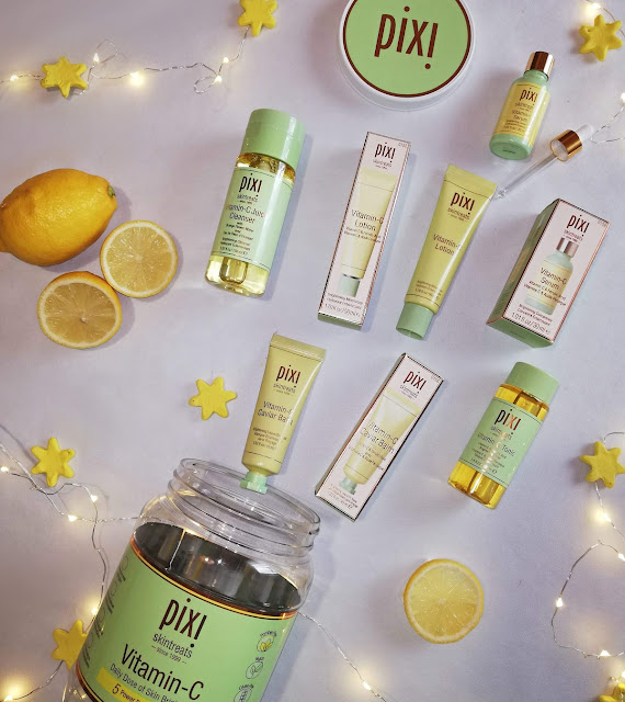 pixi, vitamin c collection, skincare, njega kože, koža,skin, skin care, lice, face, products, review, recenzija, pixi proizvodi, blogger, limun, lemon, clear skin
