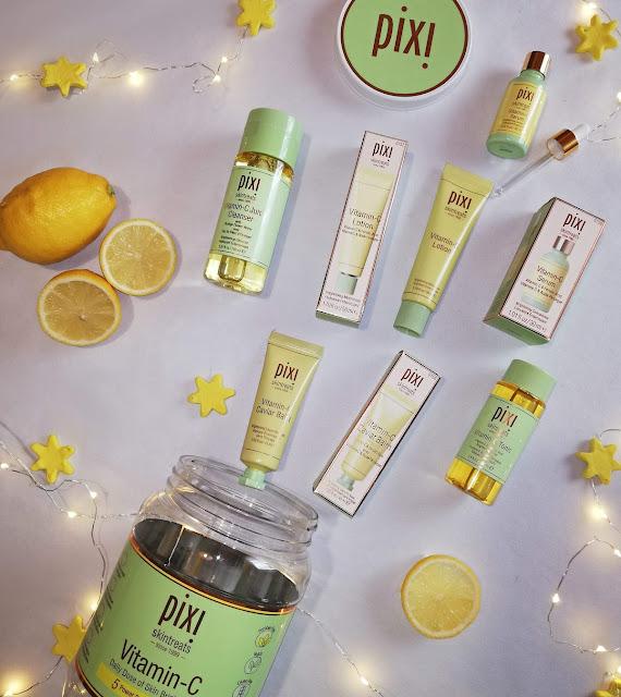 pixi, vitamin c collection, skincare, njega kože, koža,skin, skin care, lice, face, products, review, recenzija, pixi proizvodi, blogger, limun, lemon, clear skin