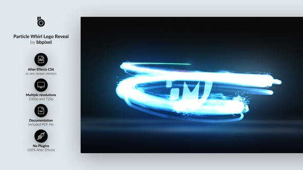 Particle Whirl Logo Reveal[Videohive][After Effects][28197010]
