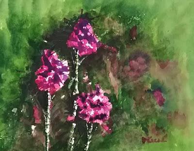 Crepe Myrtle Watercolor - JKeese