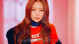 Foto Jennie Kim Black Pink Terbaru di MV Whistle