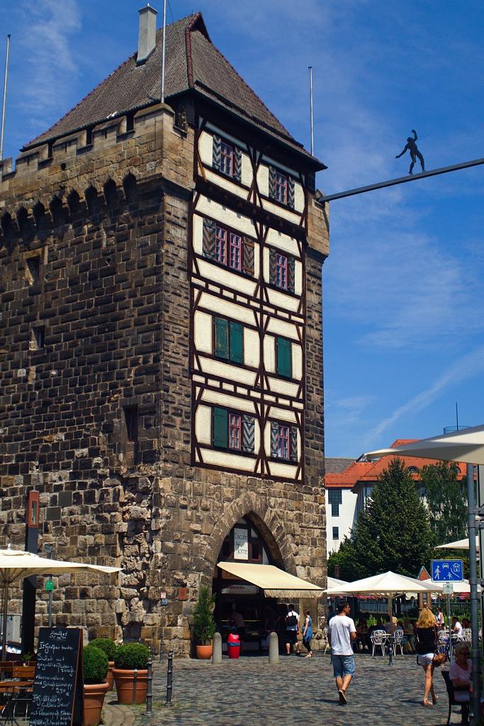 #110-1 Retina-Curtar-Xenon f5.6 35mm – Schelztor in Esslingen