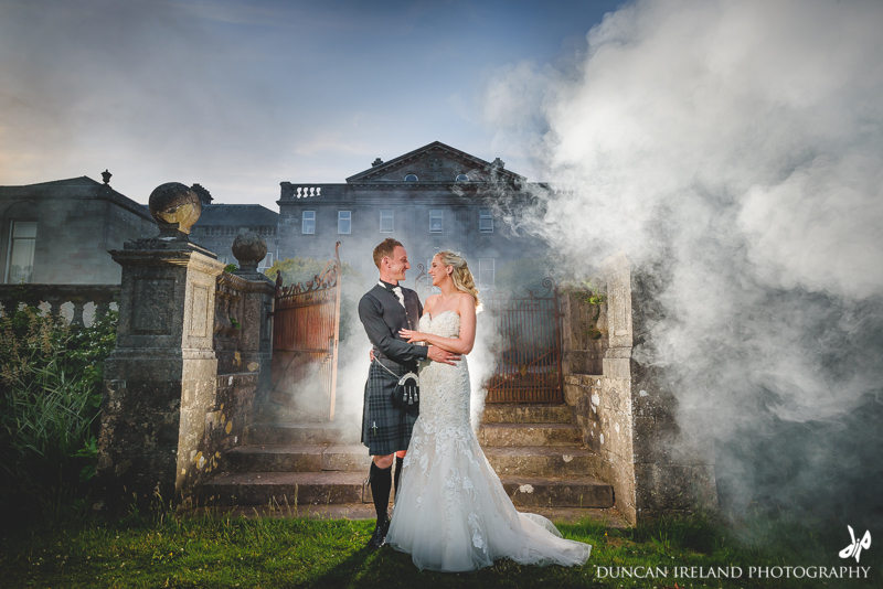 Springkell Wedding Photographer Dumfries And Galloway