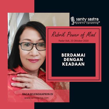 Rubrik Power of Mind Radar Bali : Berdamai Dengan Keadaan