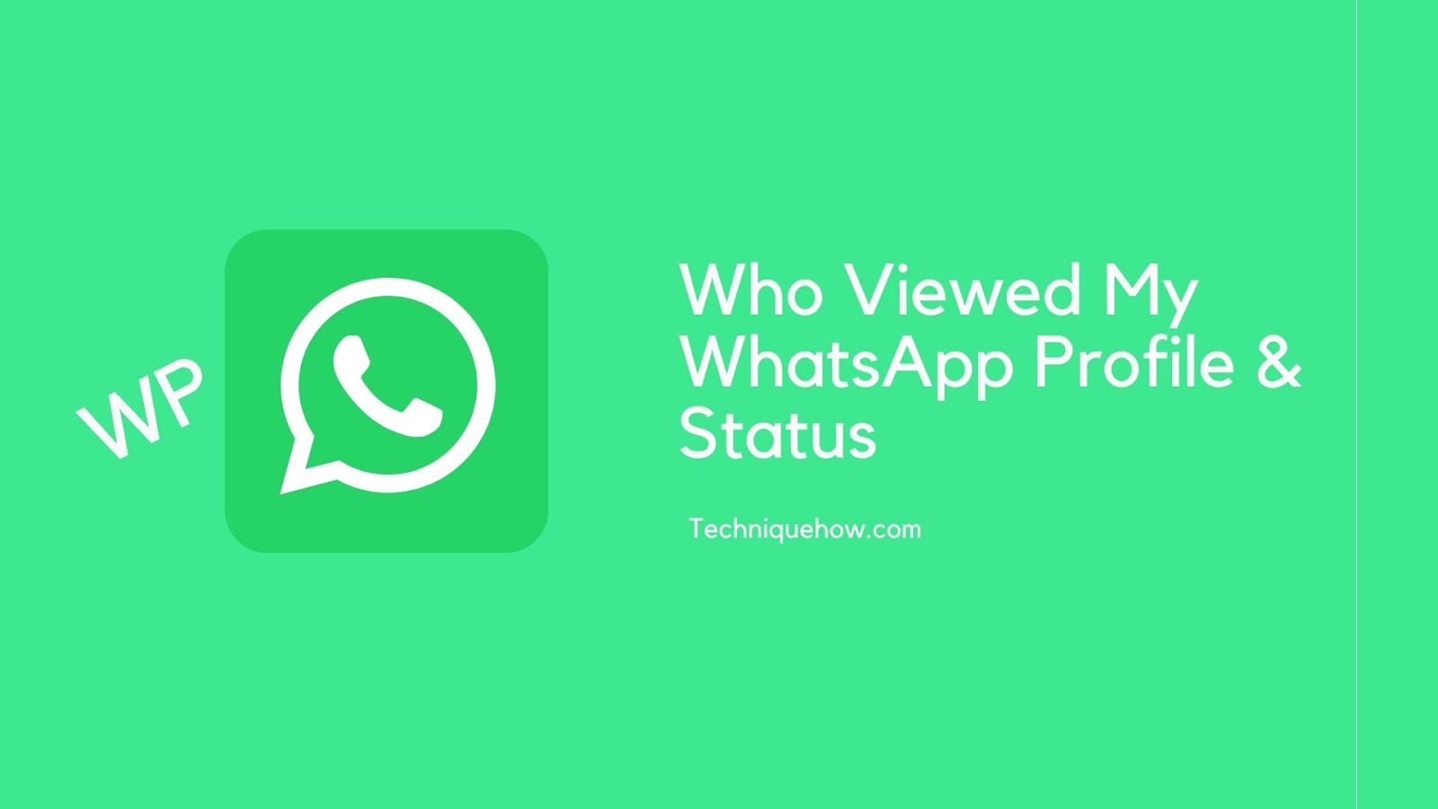 who viewed my whatsapp profile