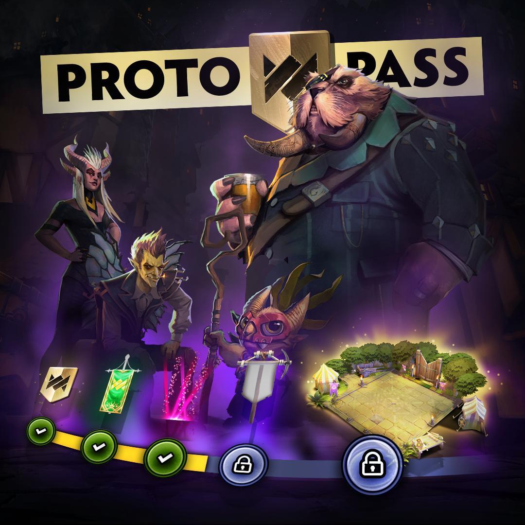 [Underlords] Bản cập nhật ngày 13 tháng 7: Proto Battle Pass chính thức trình làng