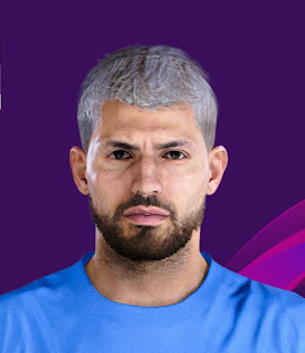 PES 2020 Faces Sergio Agüero by Lucas Facemaker