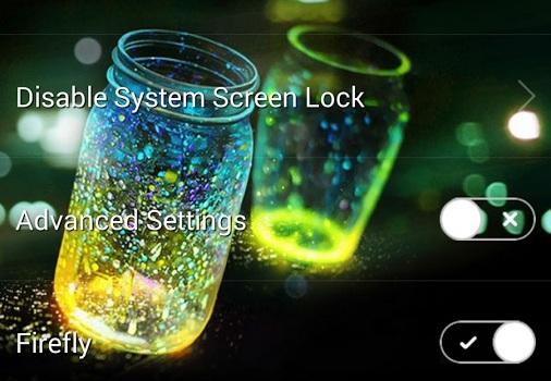 Fireflies lockscreen v2.3.6 Apk For Android