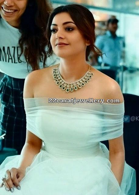 Kajal Agarwal Opulent Diamond Choker