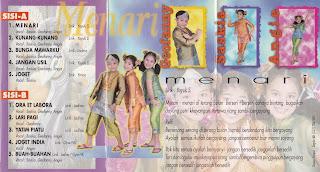 saskia geofanny album menari www.sampulkasetanak.blogspot.co.id