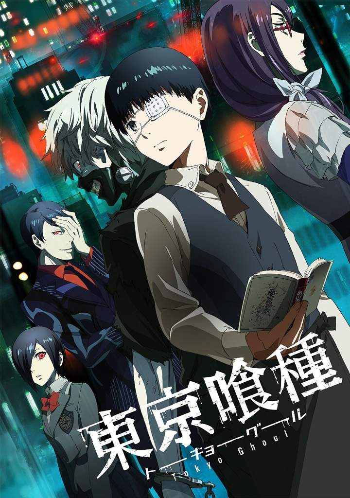Tokyo Ghoul |12/12| |Latino/Castellano/Japones + Sub. Esp| |BD Ligero 720p| |Mega|